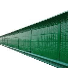 Highway Sound Barrier Air Conditioning Soundproofing Board High Speed Soundproof Wall Outdoor Silencer Panel Metal Sound Barrier Wall