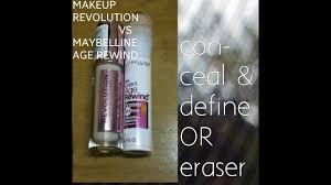 makeup revolution concealer vs