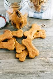 peanut er and pumpkin dog treats