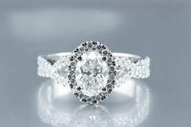 diamond halo enement ring scottsdale