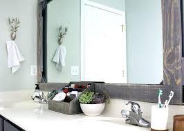rustic wood bathroom mirror noahdecor co