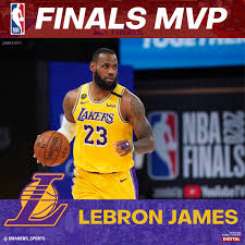 LeBron James is the 2020 NBA Finals MVP ...