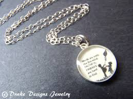 quotes friendship jewelry best friend quote necklace sterling