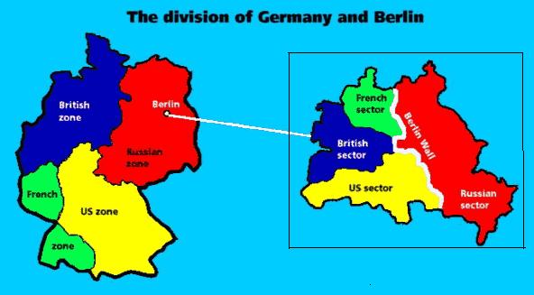 """divided germany map ile ilgili görsel sonucu"""""""