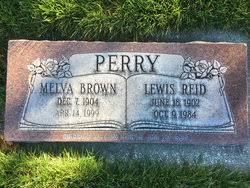 Melva Brown Perry (1904-1999) - Find A Grave Memorial