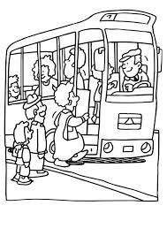 Kleurplaat Bus Gratis Kleurplaten Om Te Printen
