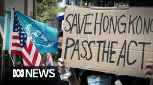 Hong Kong protesters ask President Trump to 'liberate' Chinese ...