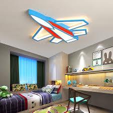Neo Gleam Plane Modern Led Chandelier For Children Room Bedroom Boy Kids Room Home Deco 90 260v Ceiling Chandelier Free Shipping Chandeliers Aliexpress