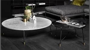 glass italian design coffee tables