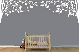 Amazon Com Childrens Wall Decals Vinyl White Tree Wall Decal Tree Branch Wall Decal Toys Games