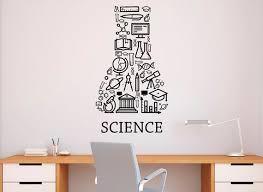 Science Education Wall Decal Vinyl Sticker School Home Office Etsy