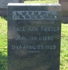 Grace Ada Foster (1882-1959) - Find A Grave Memorial