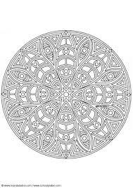 Coloring Page Mandala 1402c Img 4454 Mandala Kleurplaten