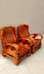 antique teak wooden chair sofa set