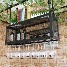 ancient wind bar wine glass rack upside