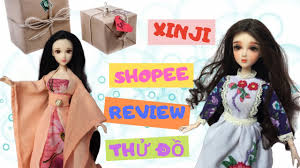 Mở bưu phẩm búp bê Xinji từ Shopee| Head Xinji Face up siêu xinh - YouTube