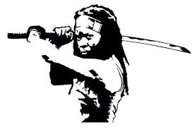 For Michonne Sticker Vinyl Decal Walking Dead Zombie Apocalypse Living Dead Various Sizes Car Stickers Aliexpress