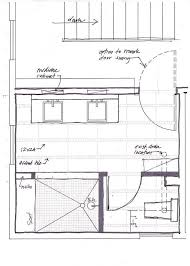 small master bathroom floor plans with