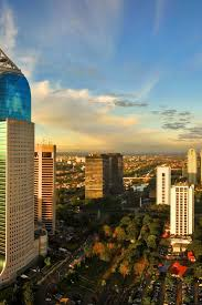cityscapes indonesia cities skyline