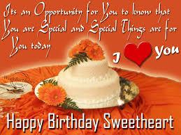 happy birthday sweet heart beautiful cake nice wishes