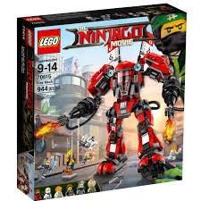 LEGO Ninjago Movie Fire Mech 70615 Building Set (944 Pieces) - Walmart.com  - Walmart.com