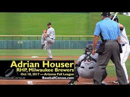 Adrian Houser, RHP, Milwaukee Brewers — October 18, 2017 (AFL ...