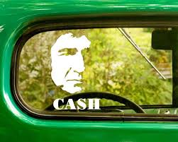 2 Johnny Cash Band Decal Stickers Car Decals Classic Cars Johnny Cash