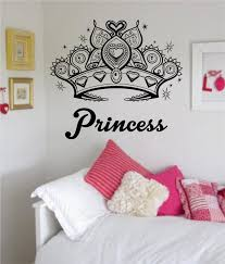 Princess Crown Girl Daughter Design Decal Sticker Wall Vinyl Decor Art Boop Decals