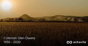 Coleman Glen Owens Obituary (1930 - 2020) | Leesville, Louisiana