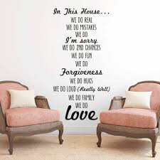 We Do Family Inspiring Life Quotes Wall Decor Modern Wall Art Murals Decals Vinyl Sticker For Living Room Home Goods Calligraphy Buy At The Price Of 3 88 In Aliexpress Com Imall Com