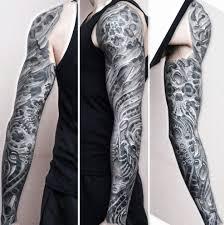 Czarnobialy Tatuaz Na Rece