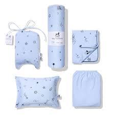 baby boy bedding blue star crib bedding