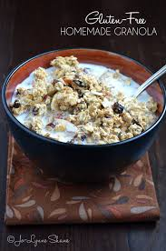 gluten free homemade granola recipe