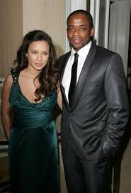 Dule Hill and his exquisite wife Nicole Lyn | Famous interracial ...