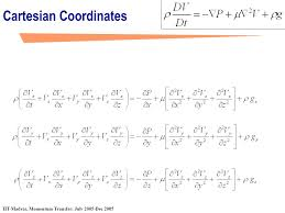 navier stokes equation ppt