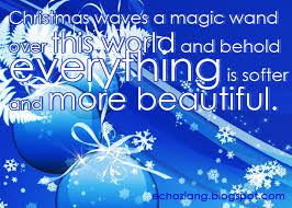 pinoy quotes christmas waves a magic wand over this world and