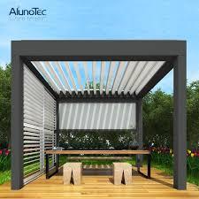 opening patio aluminium louver