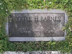 Myrtle Hurst Barnes (1877-1952) - Find A Grave Memorial
