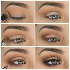 how to put on simple eye makeup