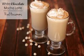 white chocolate mocha latte real