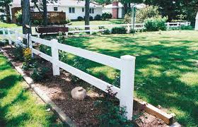 Polyrail Post Rail Fencing Digger Specialties Inc Digger Specialties Inc