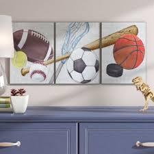 Toddler Boy Room Decor Sports Wayfair