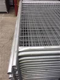 40mm Od Temp Fence Panels 2 4m X 2 1m With 3mm Diameter Mesh Auction 0103 3014924 Graysonline Australia