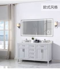 china european style led lighted mirror