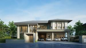 luxury 5 bedroom two story house design