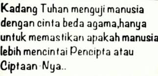 quotes cinta beda agama simpel tapi rumit depend on me