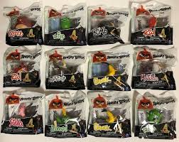 Lot of 12 Angry Birds Collectibles in Sealed Packages Matilda ...