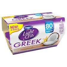 dannon light fit greek yogurt