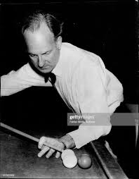 Albert Johnson Australian Billiard Chamion Practising at the Eddie ...