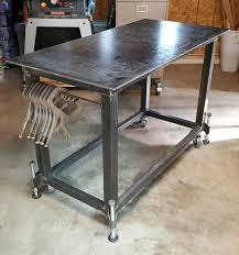 leveling feet welding table